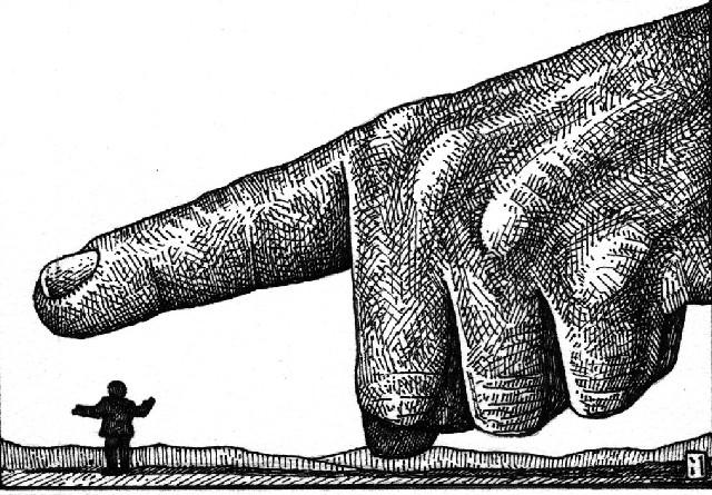 Según El contrato social de Jean-Jacques Rousseau, se define oclocracia como la degeneración de la democracia