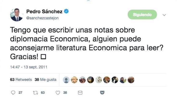 Todo en Pedro Sánchez es igual de fiable
