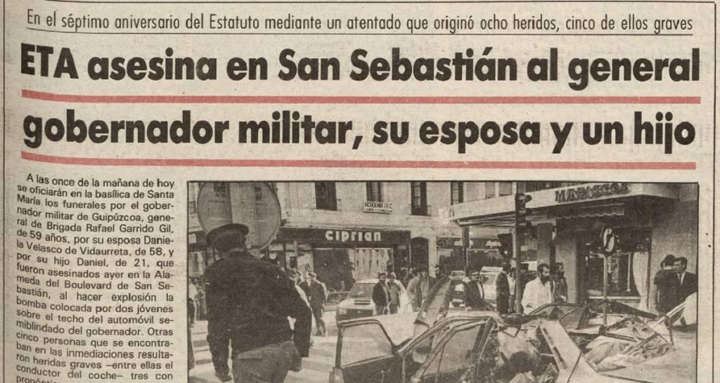 El Diario Vasco, 26 de octubre 1986
