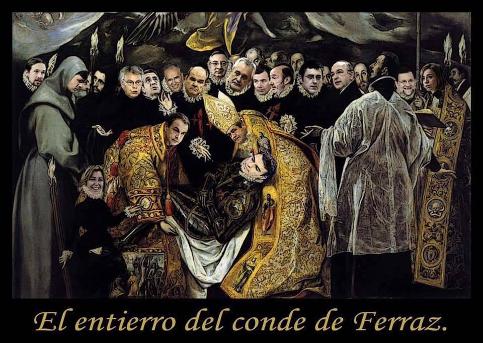 El entierro del conde de Ferraz