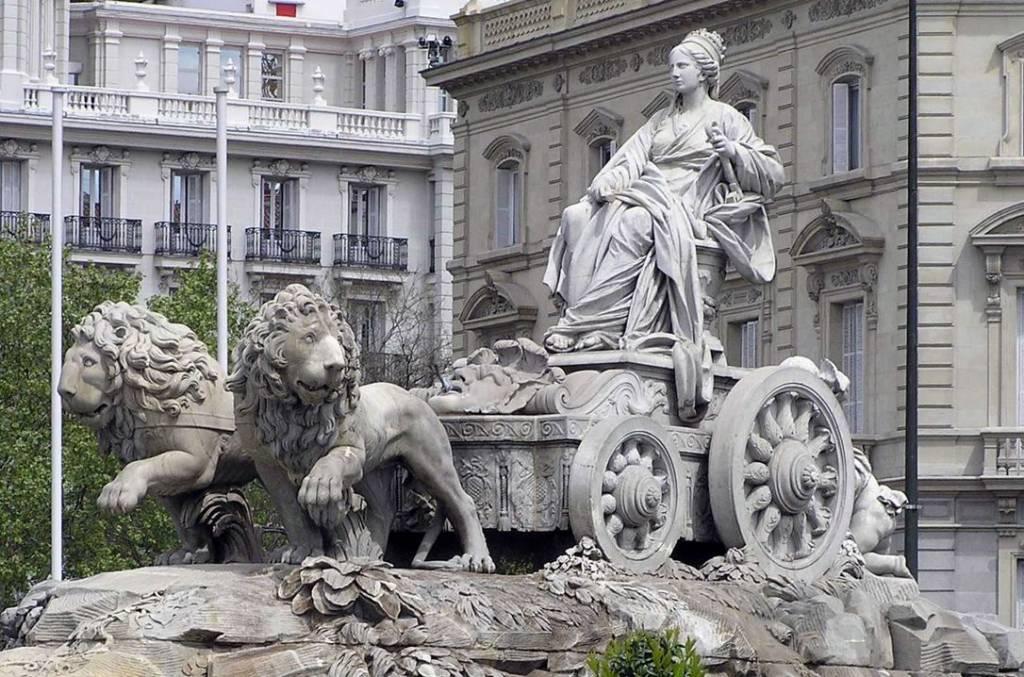 Hipómenes y Atalanta, los leones del Congreso.