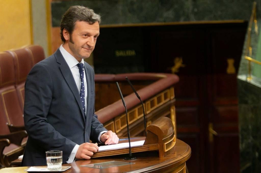 Miguel Ángel Paniagua en el Congreso de los Diputados