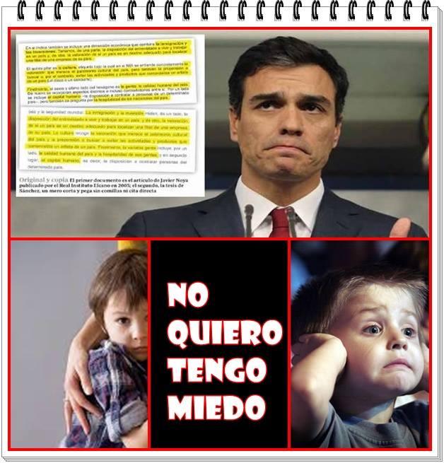 Pedro Sánchez no acudirá el 23 de octubre al Senado a dar explicaciones por su tesis