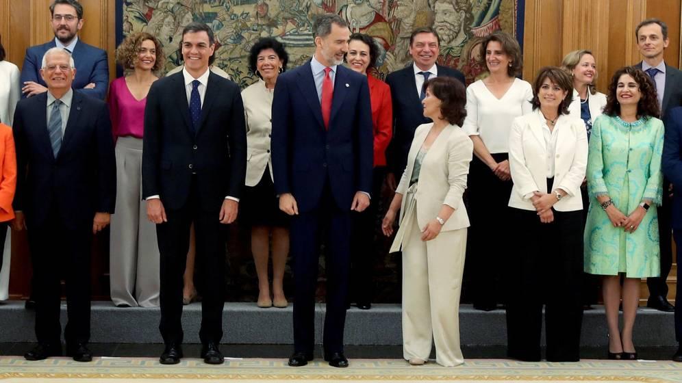 Sánchez elaboró durante meses su lista de posibles ministros y la terminó en cuatro días