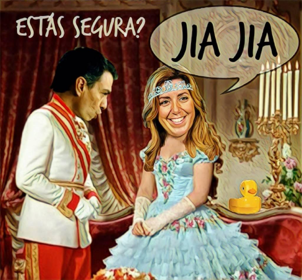 Sussi Emperatriz comunica a Sánchez el adelanto electoral en Andalucía. Por Linda Galmor