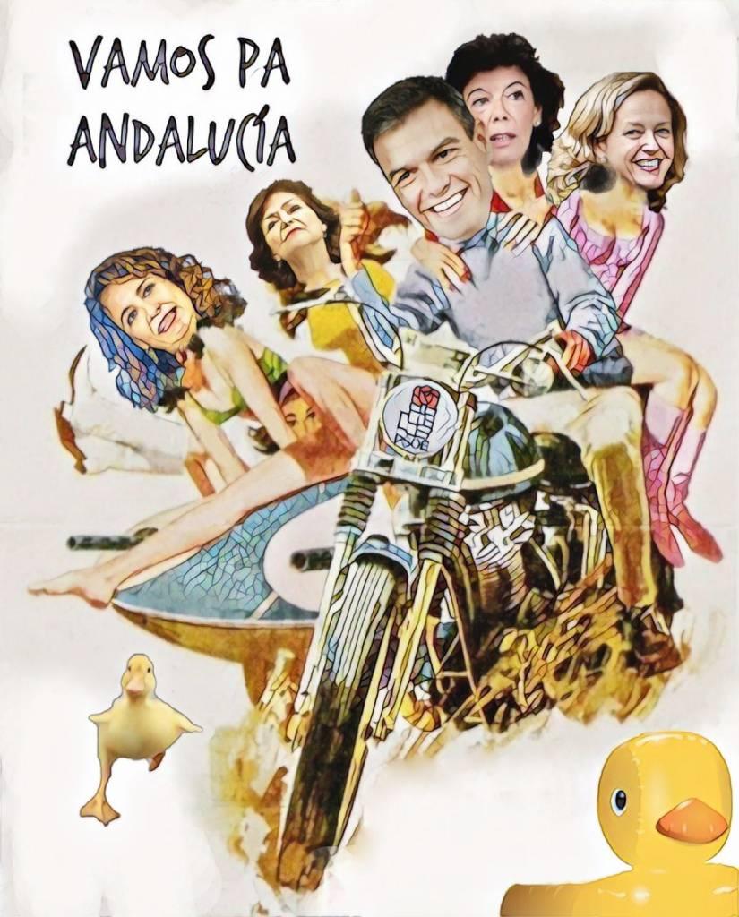 Vamos pa Andalucía de Linda Galmor