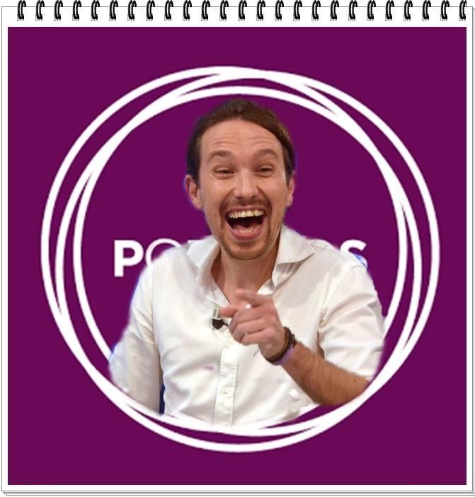 el sueldo mínimo del líder de Podemos, Pablo Iglesias, se incrementaría