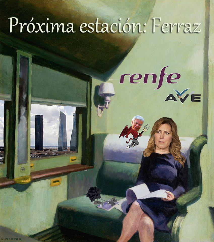 El Museo político de Rafael Herrera: Próxima estación, Ferraz