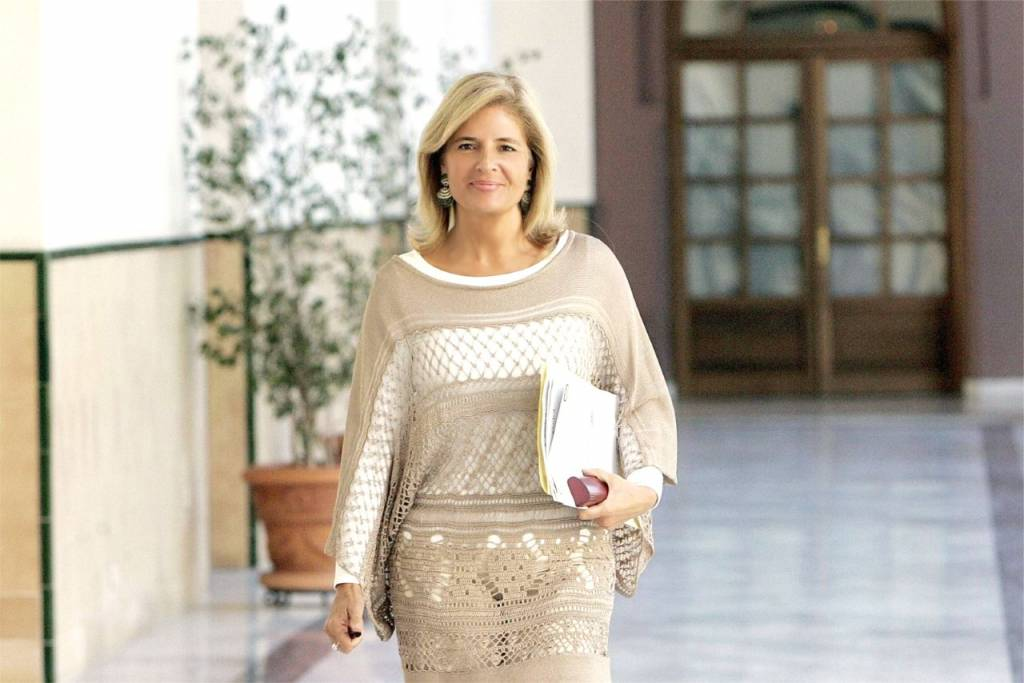 Esperanza Oña en el Parlamento andaluz