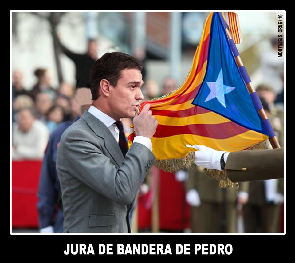 Jura de bandera del doctor Sánchez. Por Santi Orue