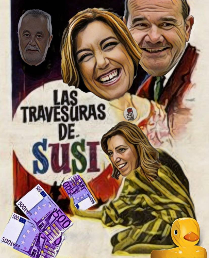 PSOE, 40 años de mangoneo en Andalucía. Por Linda Galmor