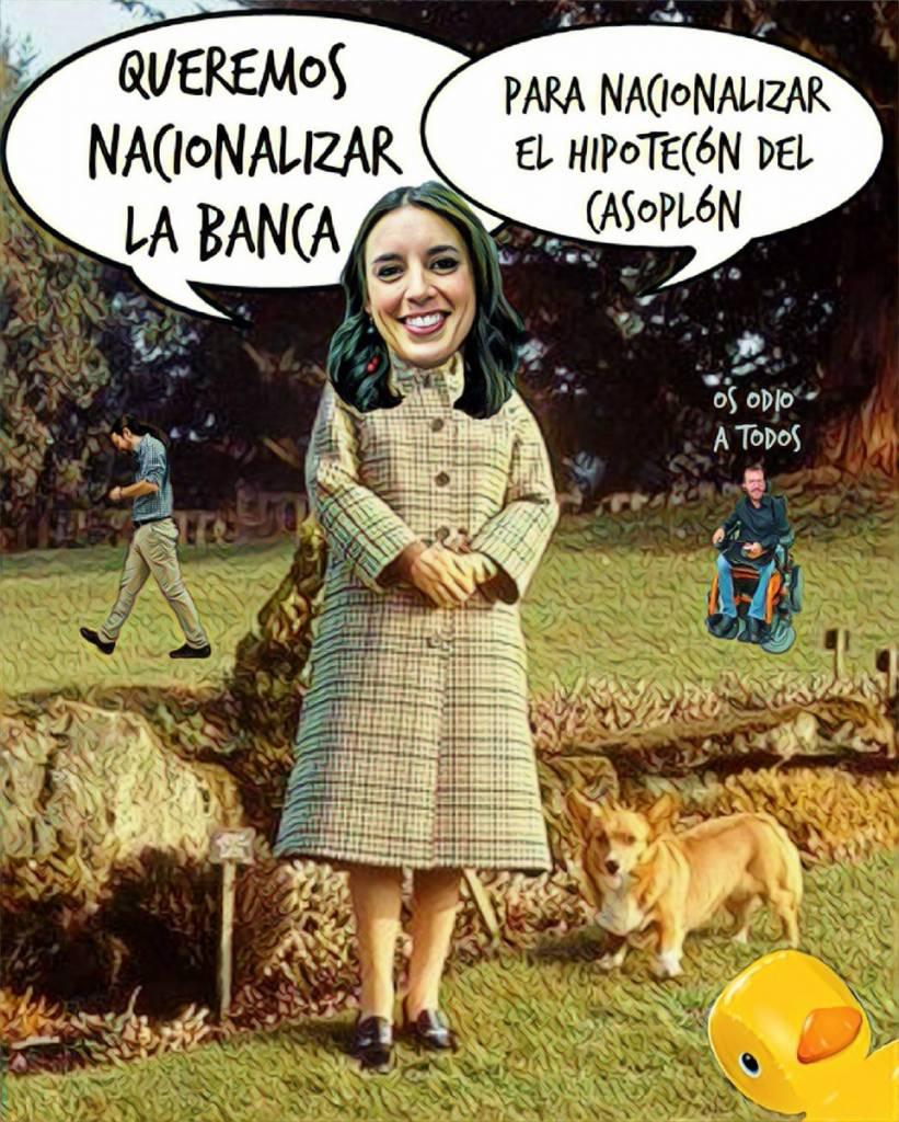 Postura radical de Podemos en la resolución del Tribunal Supremo sobre las hipotecas. Por Linda Galmor
