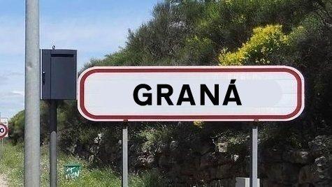 Señalización bilingüe propuesta en Granada