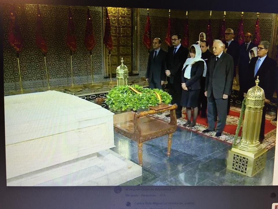 La ministro Delgado guarda el protocolo en Marruecos y no en el Vaticano