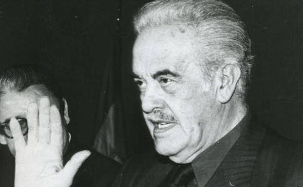 Imagen de Girón de Velasco. El ministro franquista que creó la Seguridad Social