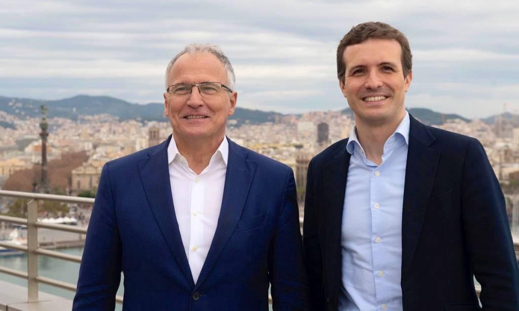 Josep Bou y Pablo Casado