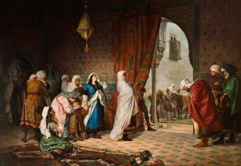 La salida de la familia de Boabdil de La Alhambra