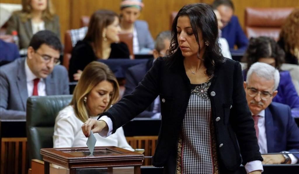 Marta Bosquet, diputada de Cs, nueva presidenta del Parlamento de Andalucía