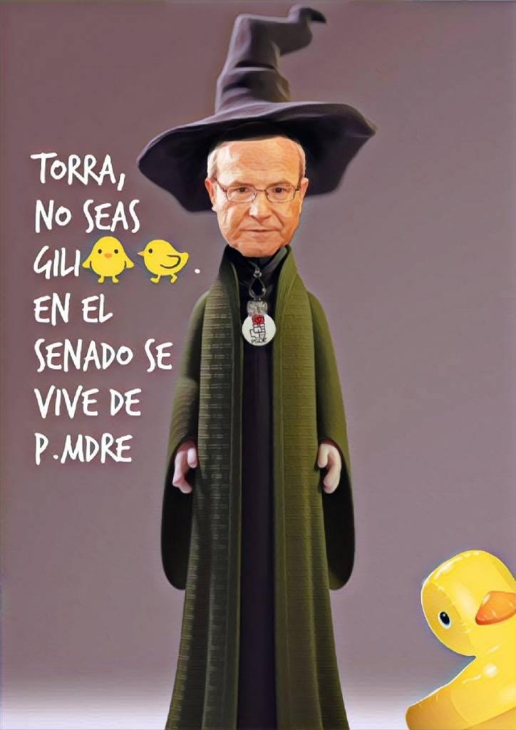 Sánchez envía a Montilla-el-más-pilla a pacificar a Torrademont. Por Linda Galmor