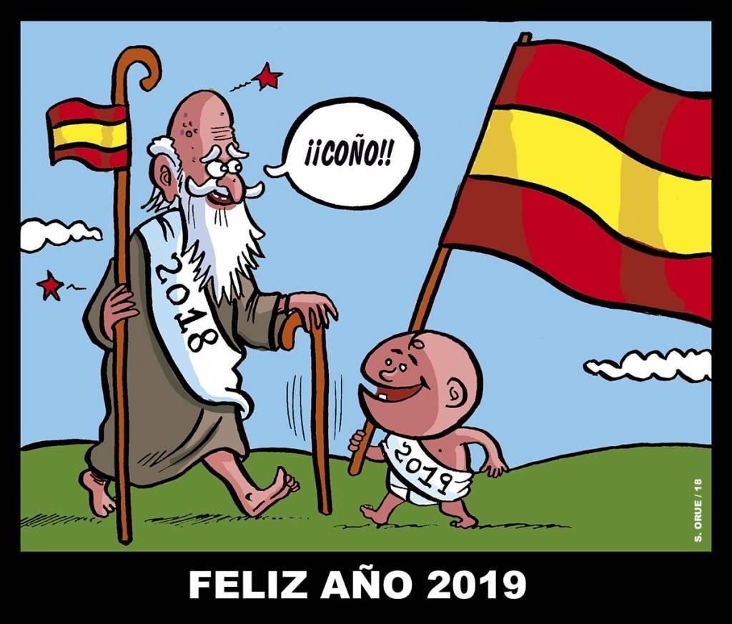 Todo listo para dar la bienvenida al 2019. Por Santi Orue