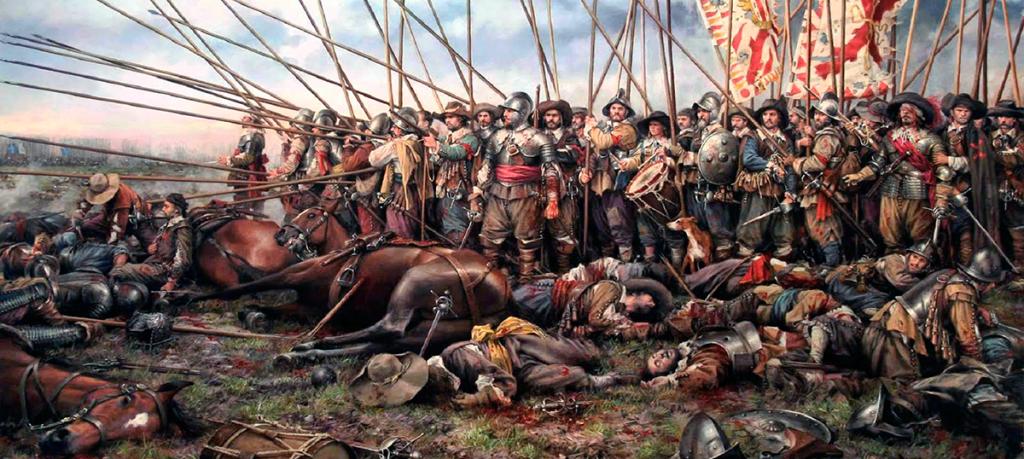 Rocroi: Las Termópilas de la Infantería española. Obra de Agusto Ferrer Dalmau
