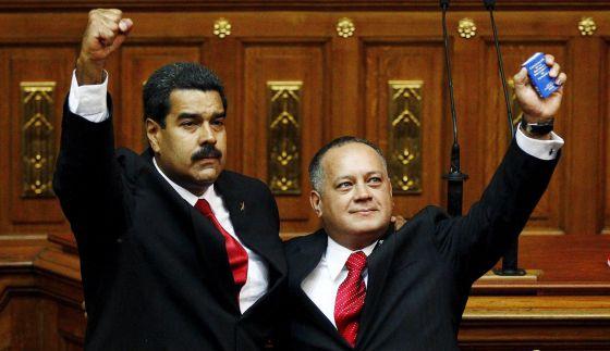 Diosdado Cabello, Nicolás Maduro y el cartel de los soles