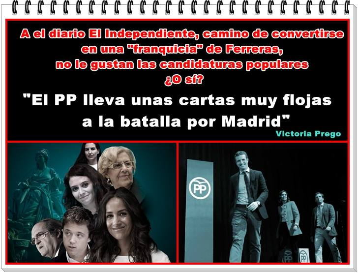 El Independiente camino de convertirse en una franquicia de Ferreras