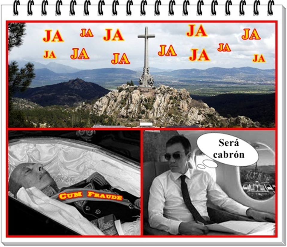 El eco de la siniestra cortina de humo del Cum Fraude es un Ja Ja Ja