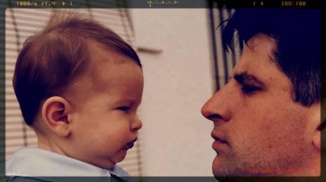 Goyo y su hijo Javier, en una imagen de la Fundación Gregorio Ordóñez