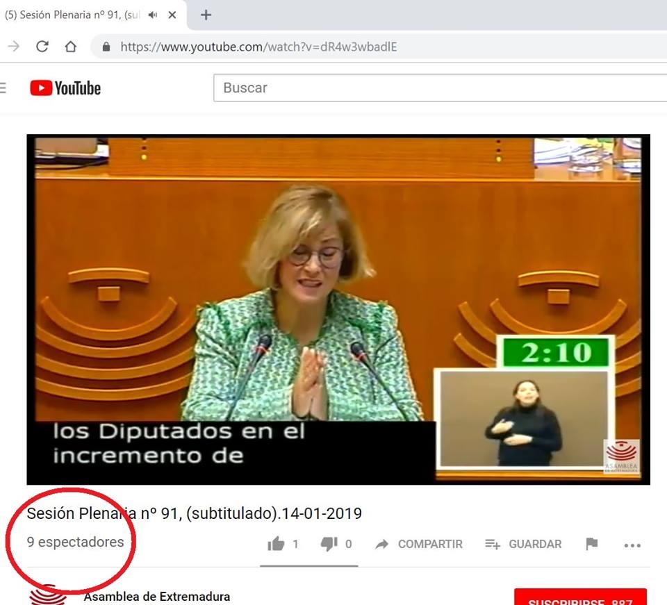 Hoy ha empezado el debate de los Presupuestos de la Comunidad Autónoma de Extremadura