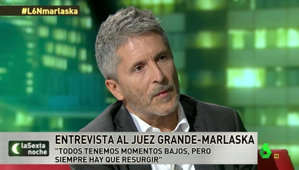 el juez Marlaska
