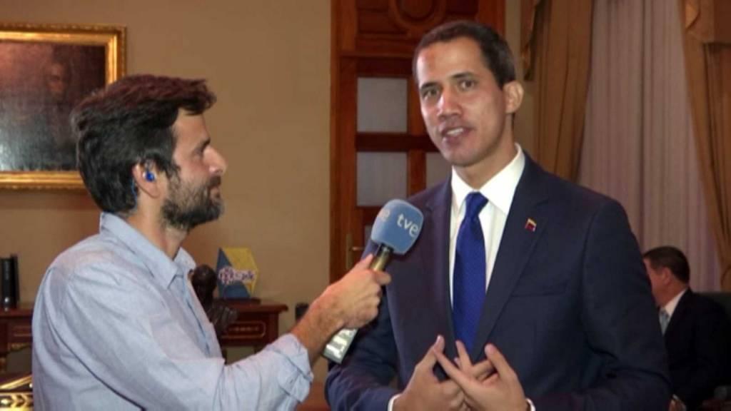 Iñigo Herraiz entrevista a Juan Guaidó