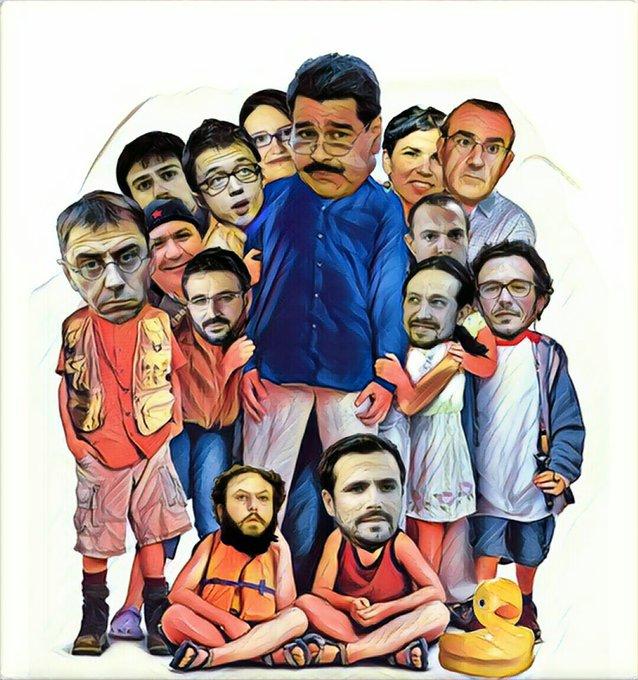 Mojaron como locos en el erario venezolano... Por Linda Galmor