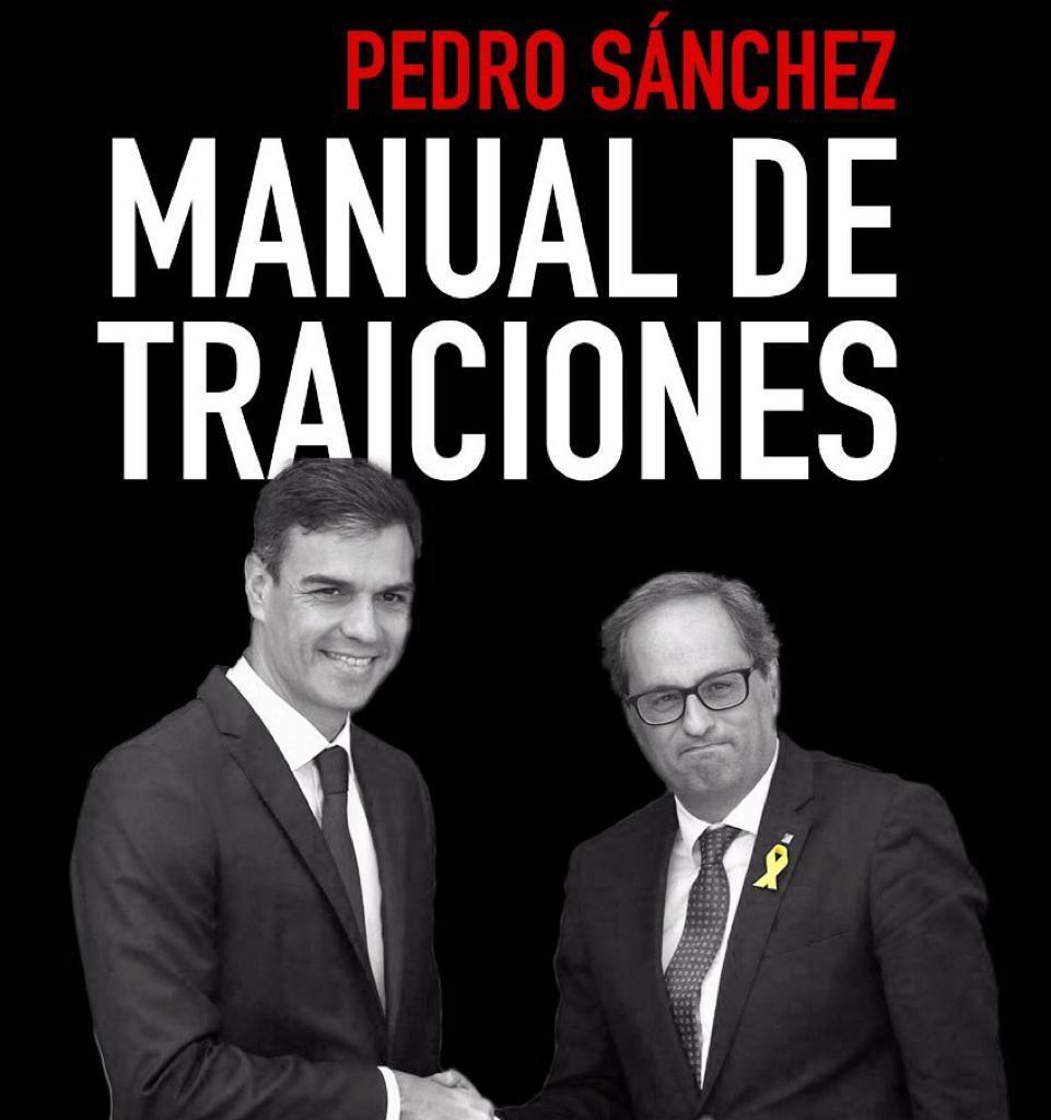 Pedro Sánchez, manual de traiciones