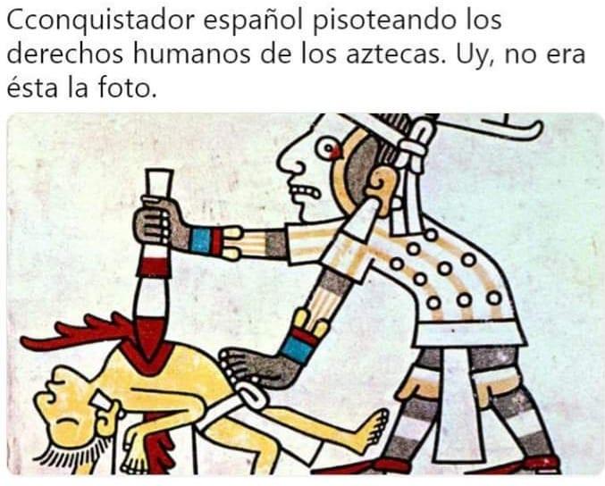Derechos humanos de los aztecas