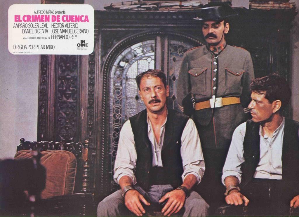 Fotograma publicitario del Crimen de Cuenca