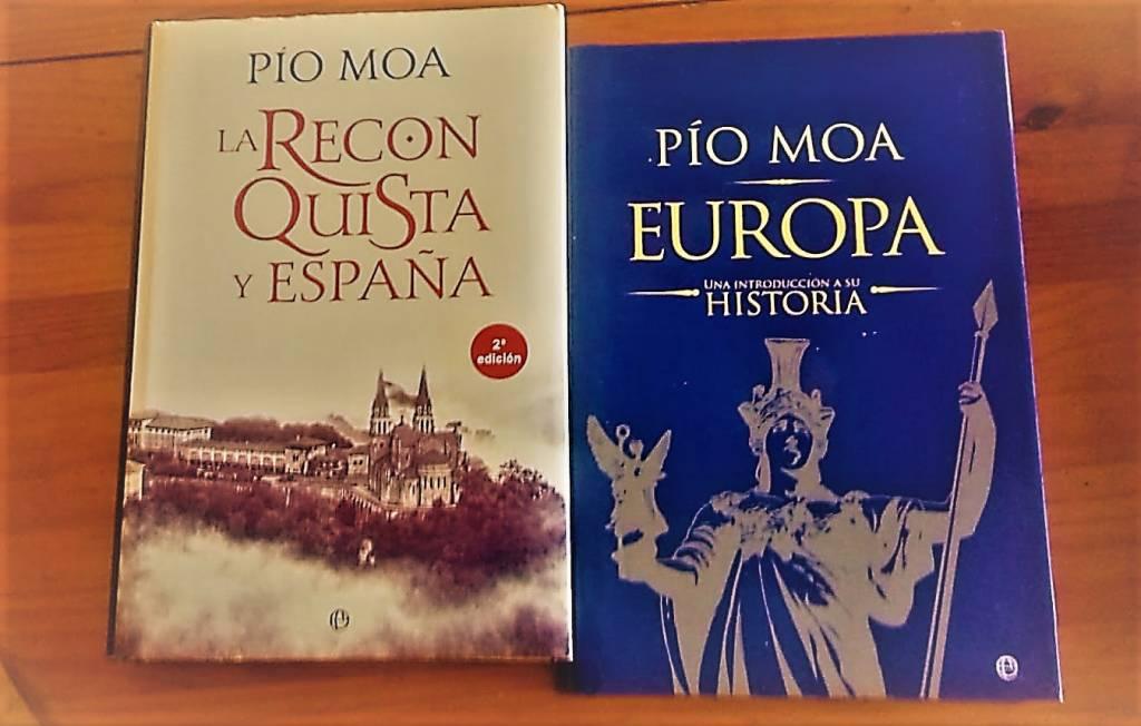 """""""La Reconquista y España"""" y """"Europa"""" de Pío Moa"""