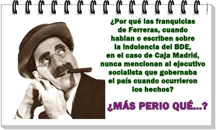 Los franquiciados de Ferreras y el Banco de España