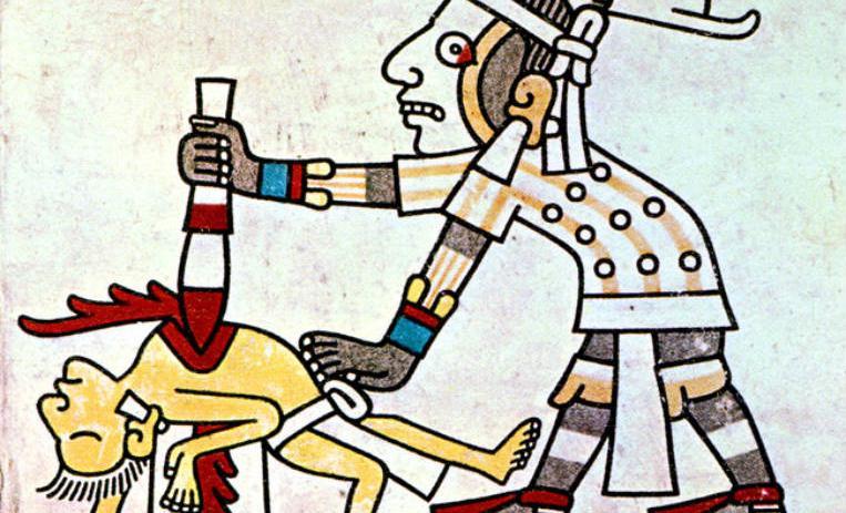 Los sacrificios humanos durante el Imperio Azteca