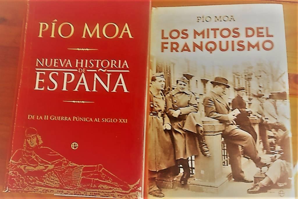 """""""Nueva historia de España"""" y """"los Mitos del Franquismo""""."""