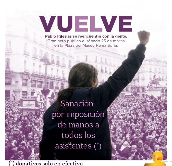 Vuelve Pablo Iglesias