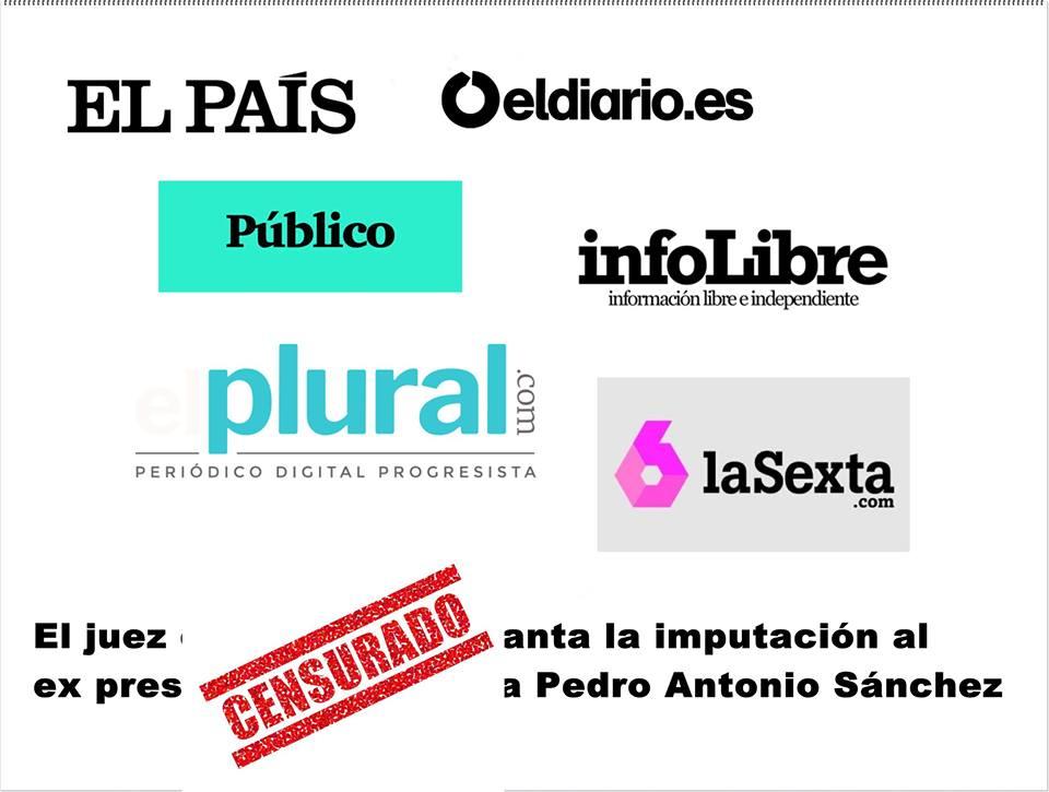 El juez de la Púnica levanta la imputación al ex presidente de Murcia Pedro Antonio Sánchez