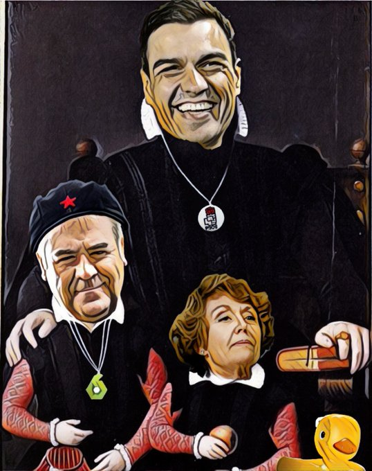 #EnanosDeLaCorteSanchista #ElDebateDecisivo. Por Linda Galmor