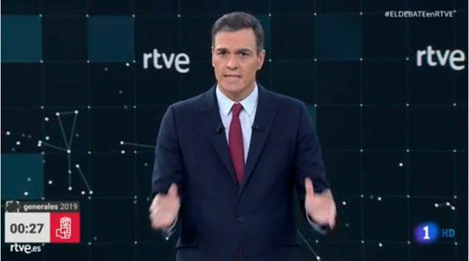 """""""Que yo no quería venir..."""" Pedro Sánchez"""