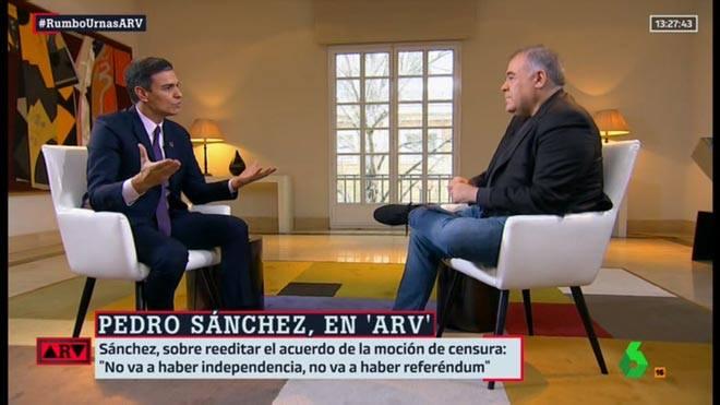 Señor Sánchez, ¿tendrá usted el mismo compromiso político?