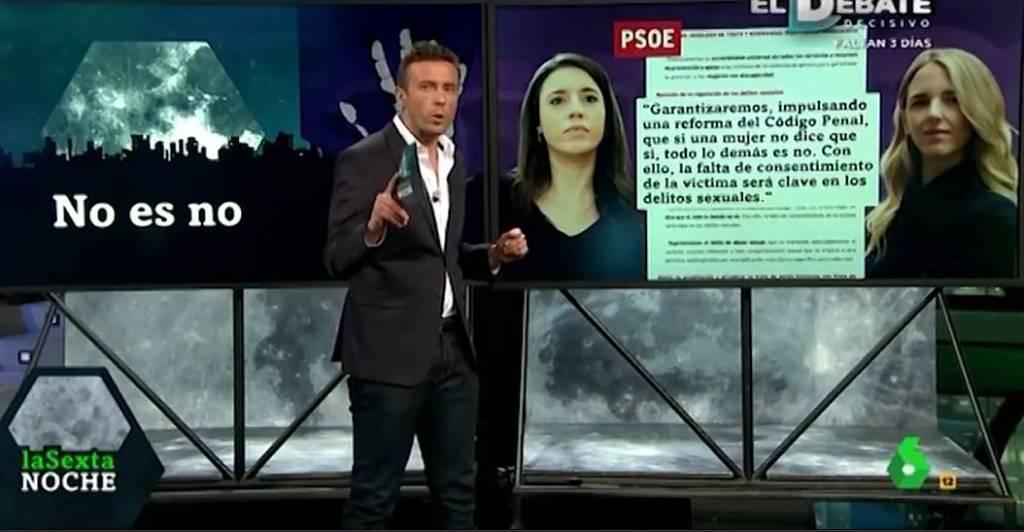 Cómo ocurrió en la 1 de TVE y qué te cuentan en La Sexta