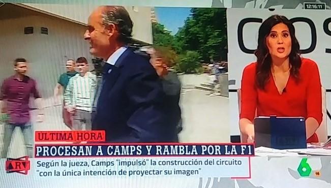 Camps, la Fómula 1 y la manipulación infame de La Sexta, una vergüenza para el periodismo