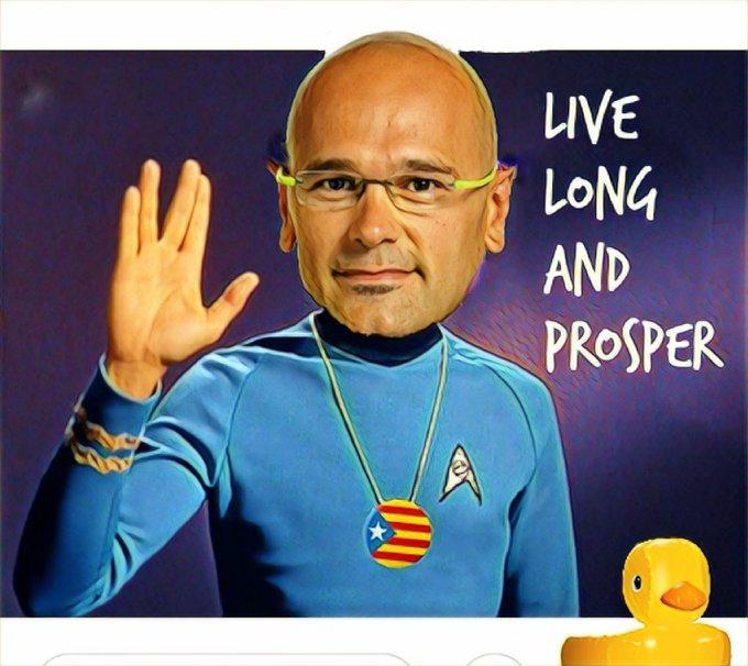 Quieren salir de España e incorporarse a la Federación Galáctica. Así todos sus pufos serán olvidados. Por Linda Galmor