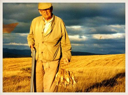 De la caza, la riqueza que nos quieren hurtar y el maestro Miguel Delibes. Imagen de la Fundación Miguel Delibes