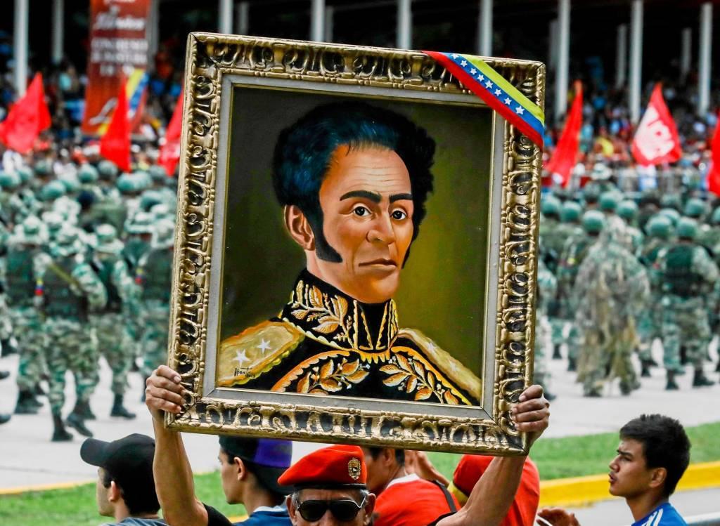 El chavismo se apropió de la imagen de Bolívar desde su llegada al poder en Venezuela
